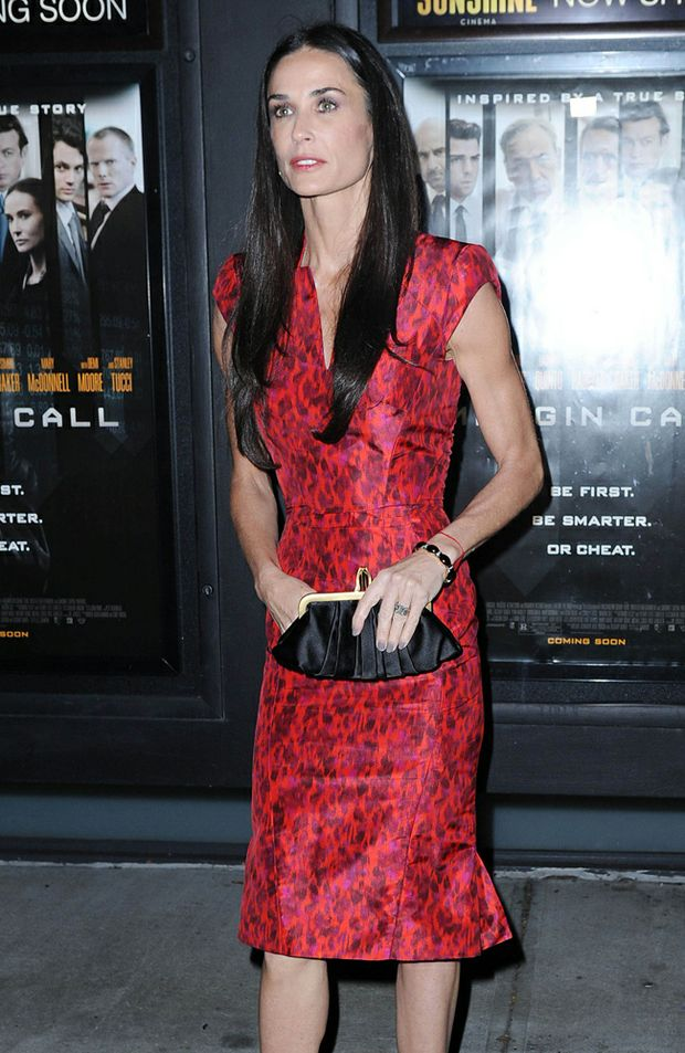 "Demi Moore is reportedly ""despondent"" about her acting career."