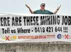 'Hunt for mine jobs waste of time'