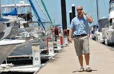 Mackay Marina Village manager Ben Anderson