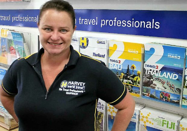 Harvey World Travel's Aly Palmer spent Friday dealing with the aftermath of Air Australia cancelling all flights.