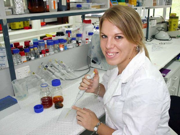 PhD student Karina Hamilton was awarded a $75,000 grant. The 21-year-old has already published a scientific article.