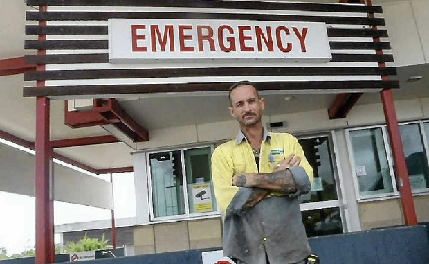 Craig Semmler is not happy about the treatment he received at Gladstone Hospital.