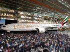 Emirates unveils 1000th Boeing 777