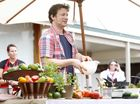 Jamie Oliver spreads the word