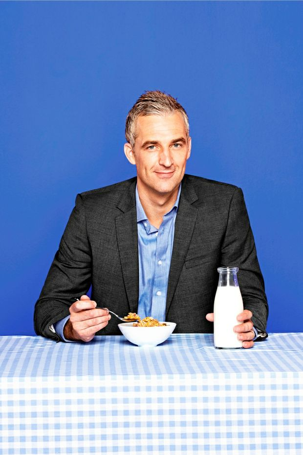 Dr Andrew Rochford is the host of Ten's new breakfast show.