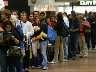 Waiting for an age in the check-in line due to mismanagement is a test of patience.