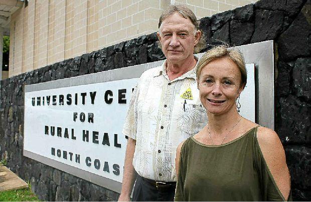 CONCERNED: Dr Wayne Somerville and Dr Rowena Knoesen.