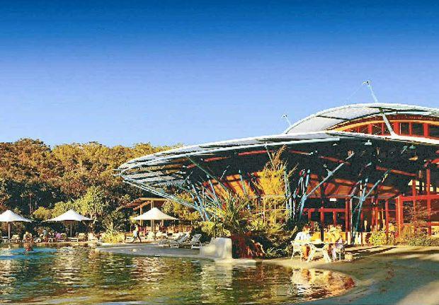 A luxury holiday awaits at Kingfisher Bay Resort.