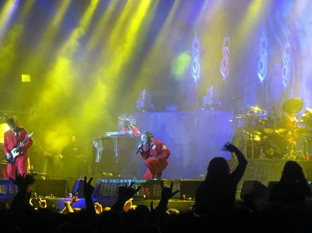 Iowa's finest, Slipknot was the second-last act to perform on the line-up for Soundwave Festival 2012 in Brisbane on February 25.