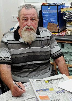 Rick Ardrey is struggling to find work.