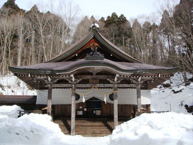 A martial arts shrine in Japan where Paul McNeill trained.