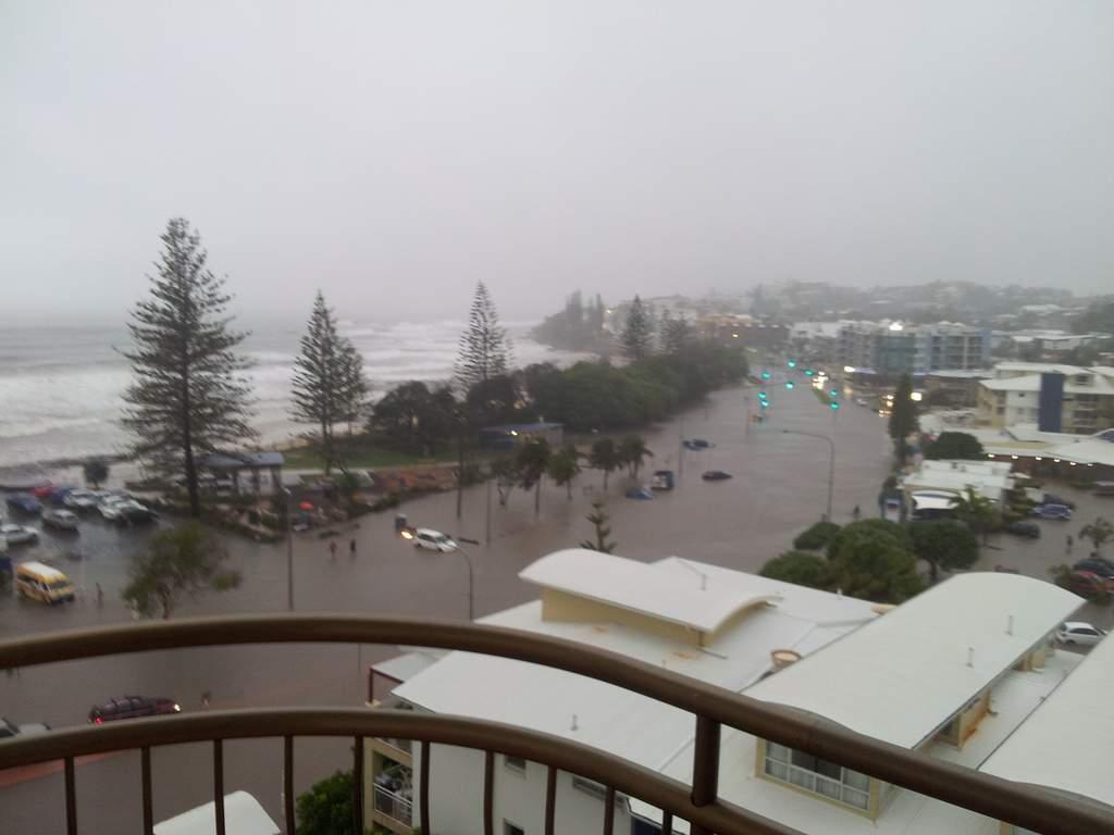 Coast Flood  In  Year Event Sunshine Coast Daily - Map of usc sunshine coast