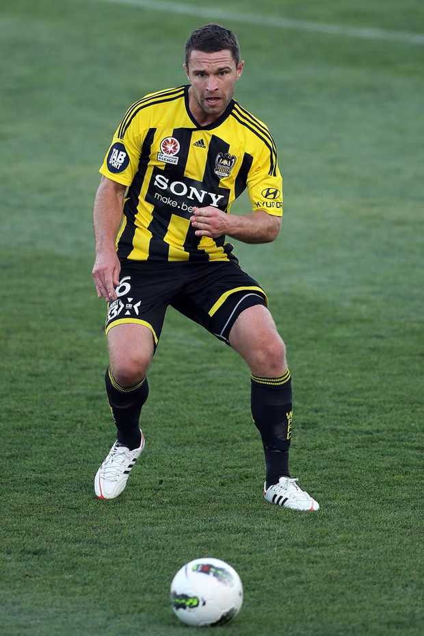 Wellington Phoenix's Tim Brown.