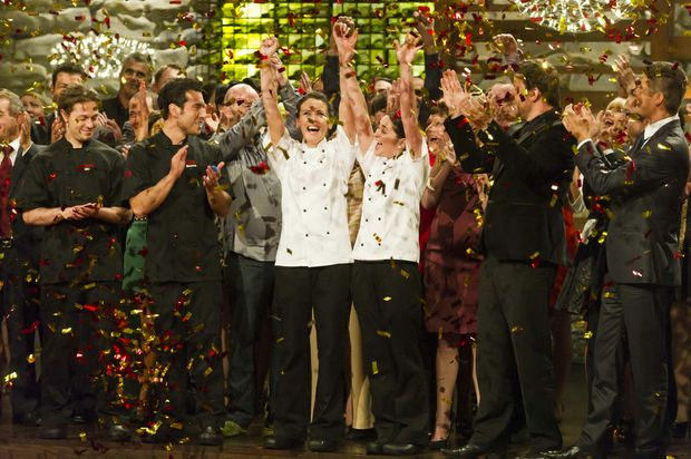 Leigh Sexton and Jennifer Evans have won the third series of My Kitchen Rules.