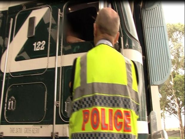 A Urunga man is the latest truck driver to fall foul of the law, following a nation-wide transport industry blitz.