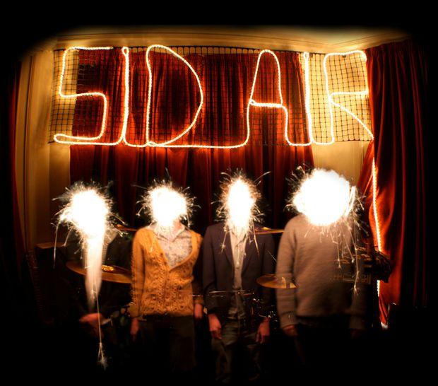 Post-punk maths-rockers Sid Air.