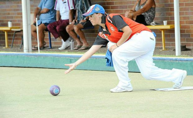 Bolivia Millerick wins the open girls final on Thursday at the Bowls Queensland 2012 State Junior Championships at the Burnett Bowls Club.