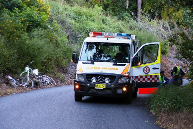 A young rider involved in a head-on at Korora on Tuesday on an unregistered dirt bike is facing charges.  FRANK REDWARD.