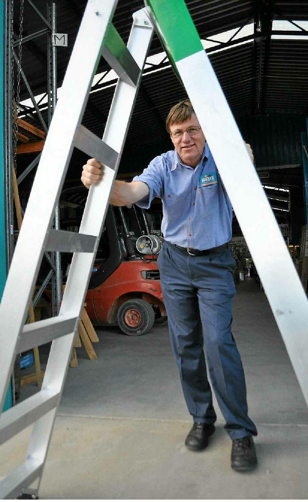 Alan Olsen won't be walking under any ladders.