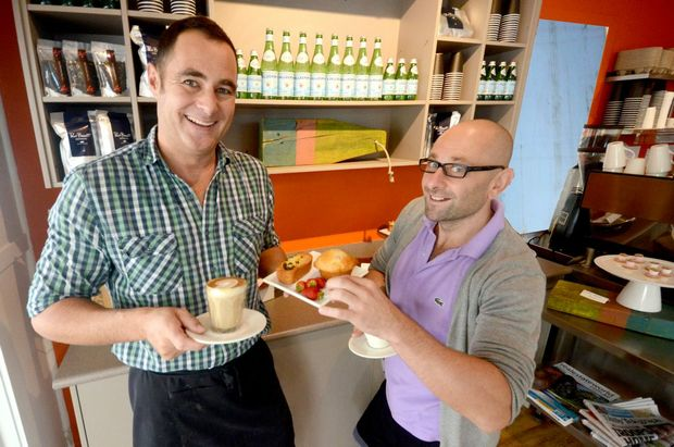 Anthony Chouri and Marcus Prince have settled in as the new owners of Cafe Aqua.