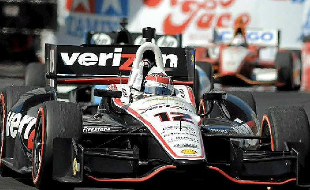 Toowoomba driver Will Power wins the IndyCar Long Beach Grand Prix.
