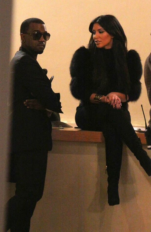 Kim Kardashian and Kanye West are a rumoured couple.