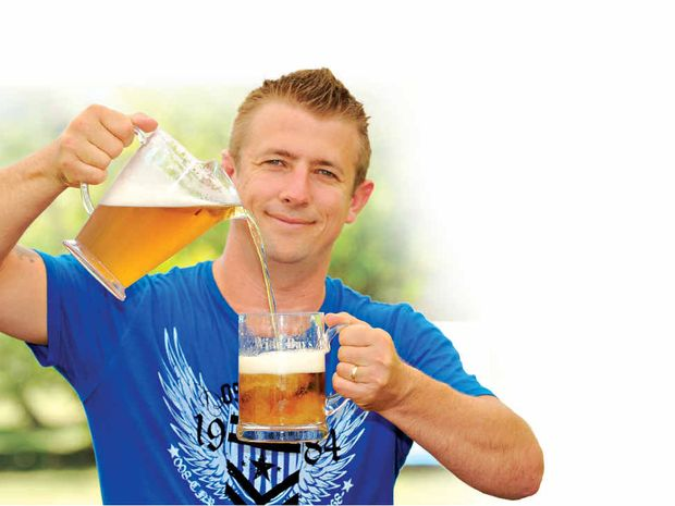 Beerfestabull organiser Clint Jensen.