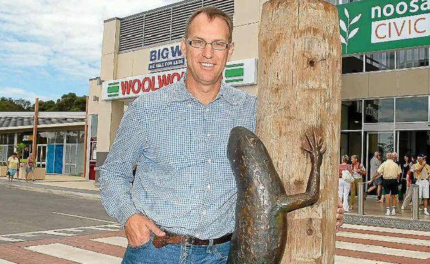 Noosa Civic developer Mark Stockwell.