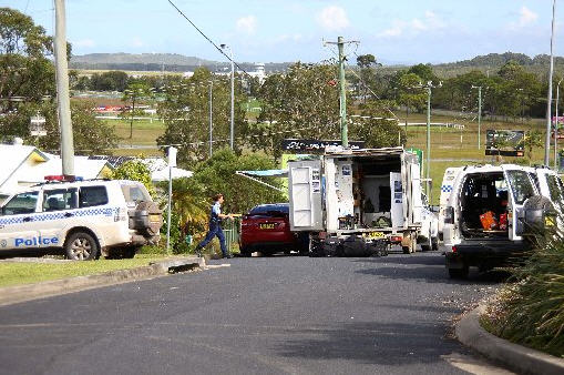 Police are attending an incident in central Coffs Harbour where a man is alleged to have threatened self harm.