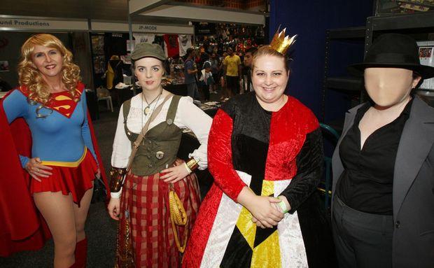 Plenty of weird and wonderful costumes.