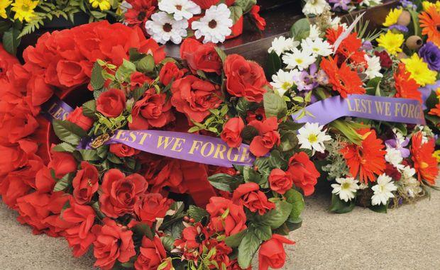 Anzac Day celebration at Caloundra