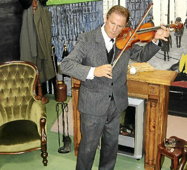 IN TUNE: The Secret of Sherlock Holmes opens next month.