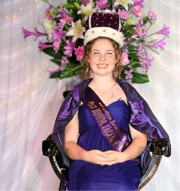 2011 Junior Jacaranda Queen Alexandria Thomson.