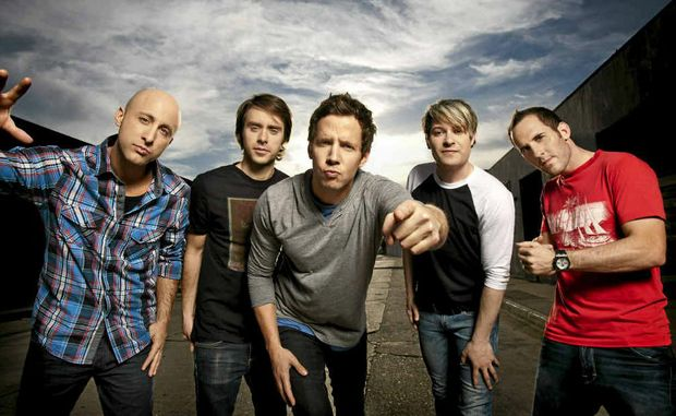 Canadian pop punk rockers Simple Plan will perform in Mackay in June. The band will play music from their latest album Get Your Heart On.