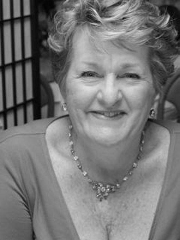 New Writers' Group president Lorraine Mouaffi.