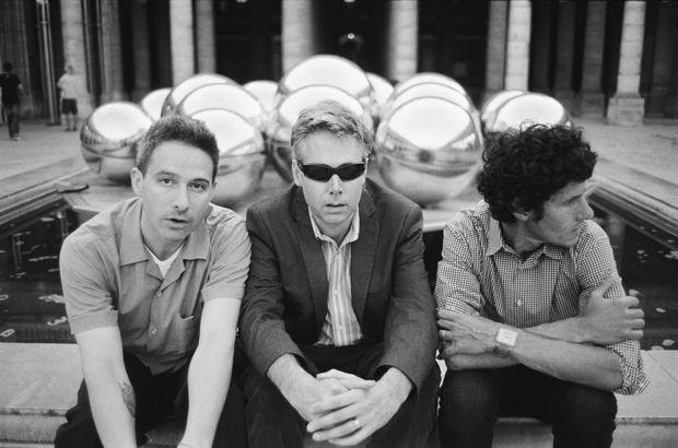 The Beastie Boys (Adam Yauch, aka MCA, in the centre).