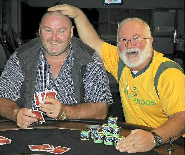 Peter Guy is joining Steve Wright in his campaign to raise awareness for Haemochromatosis Australia by growing his hair and beard by taking part in a charity poker night.