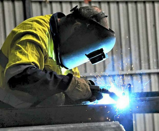 Opportunities for apprentices in Gladstone are drying up, with local companies not having the work to offer training.