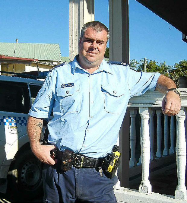Chris Goodman is in charge of Maclean police station.