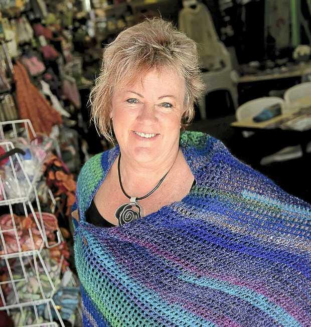 Sunshine Coast-based crochet designer, Jenny King.