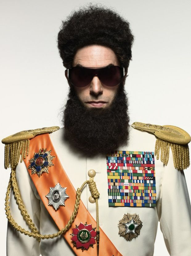 Sacha Baron Cohen in a scene from the movie The Dictator.