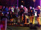 Residents escape unit block fire