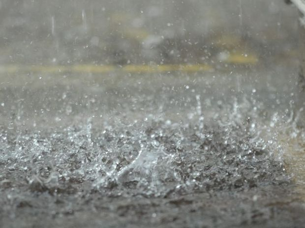 Rain Photo Peter Holt/ Daily Mercury