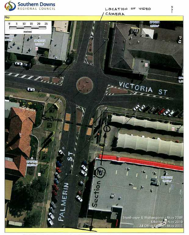 The Warwick SHS P&C; supports a zebra crossing outside the school, which could replace the existing traffic islands adjacent to the Harvey Norman Centre car park.