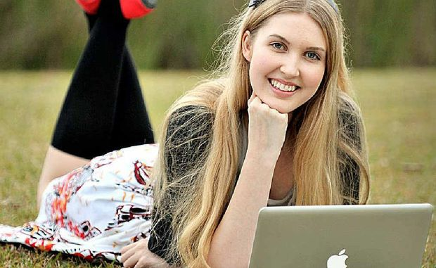 University student Chelsea Wallis, 17, is a semi-finalist in the Miss World Australia competition.