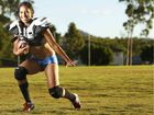 Ladies Football League player Shari Harbottle of Springfield Lakes is excited about the first Ipswich LFL game.
