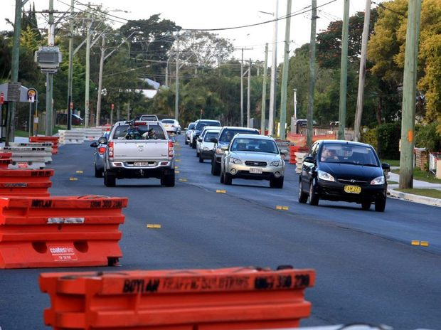 Kennedy Drive, in Tweed Heads West, is riddled with dangerous potholes.