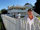 Historic home hauled onto market