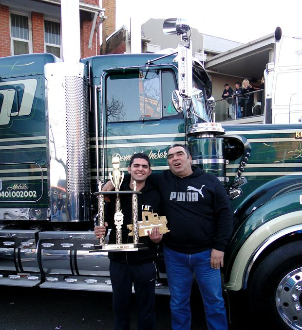 Father and son team Joe and Dom Inserra win at Alexandra Truck Show.