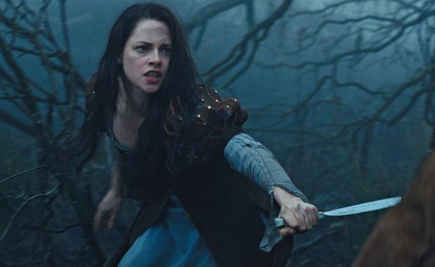 Kristen Stewart in a scene from the movie Snow White and the Huntsman.